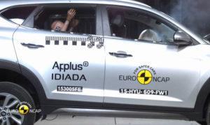 Menos valoración de Euro NCAP