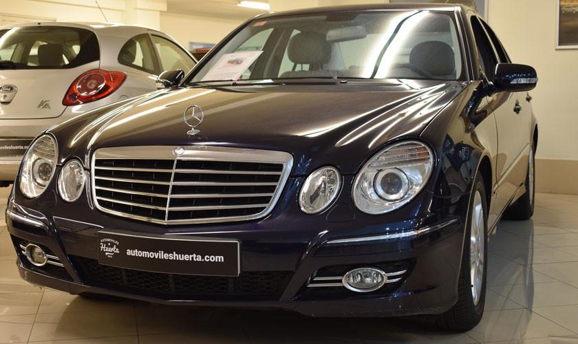 Mercedes-Benz E22O CDI Avangarde, un señor coche.