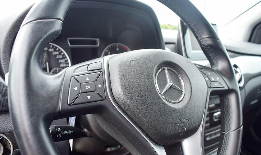 Mercedes Benz Clase B, un monovolumen muy atractivo
