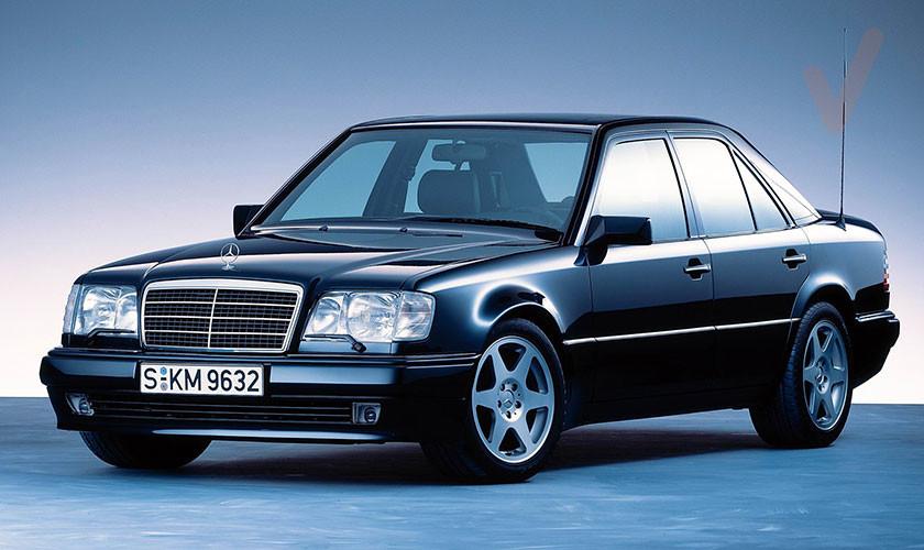 Evolución Mercedes Clase E