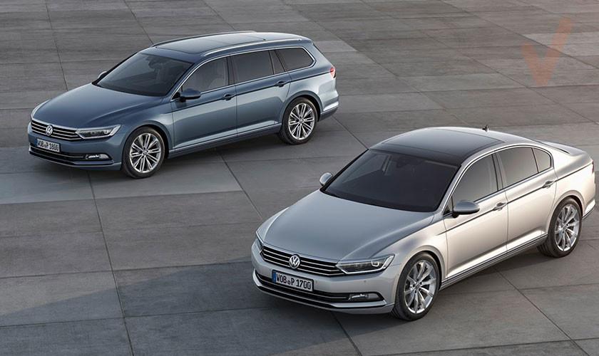 Volkswagen Passat W8 2002 vs 2.0 TSI 2017