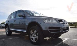 Volkswagen Touareg frontal