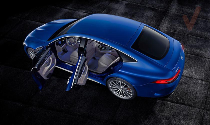 LLega el Mercedes-AMG GT de cuatro puertas