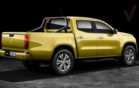 Mercedes-Benz X-Class la pick-up esperada