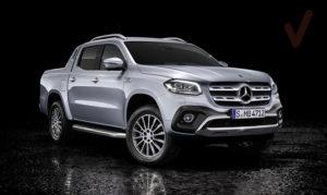 Mercedes-benz X class pickup
