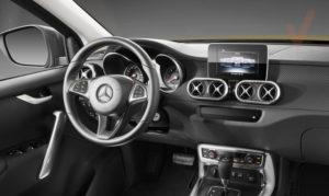 Mercedes-benz X class interior